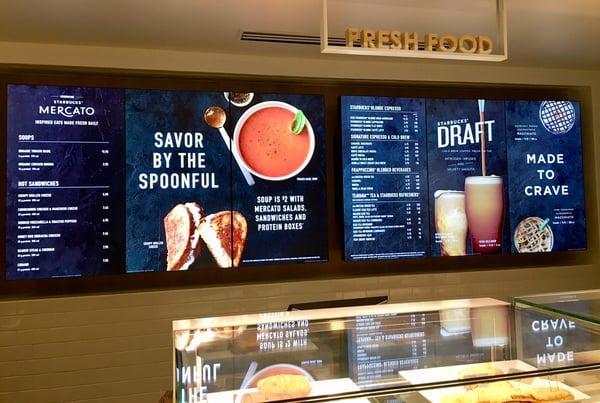 Starbucks Digital Signage