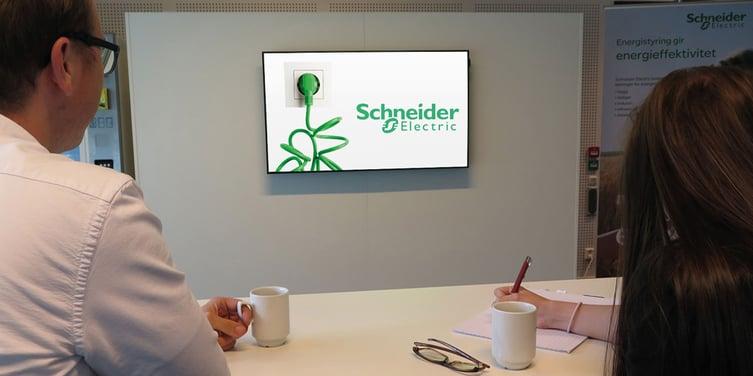 Schneider Norge bruker DatabeatOMNI på sitt kontor i Oslo