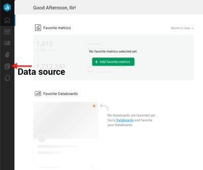 Set up Datasource