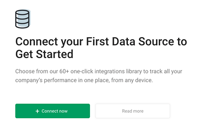 Connect datasource in databox