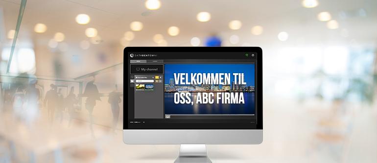 Hotell-velkommen-digital-signage