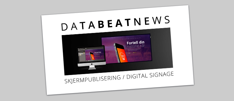 e-bok om skjermpublisering eller digital signage