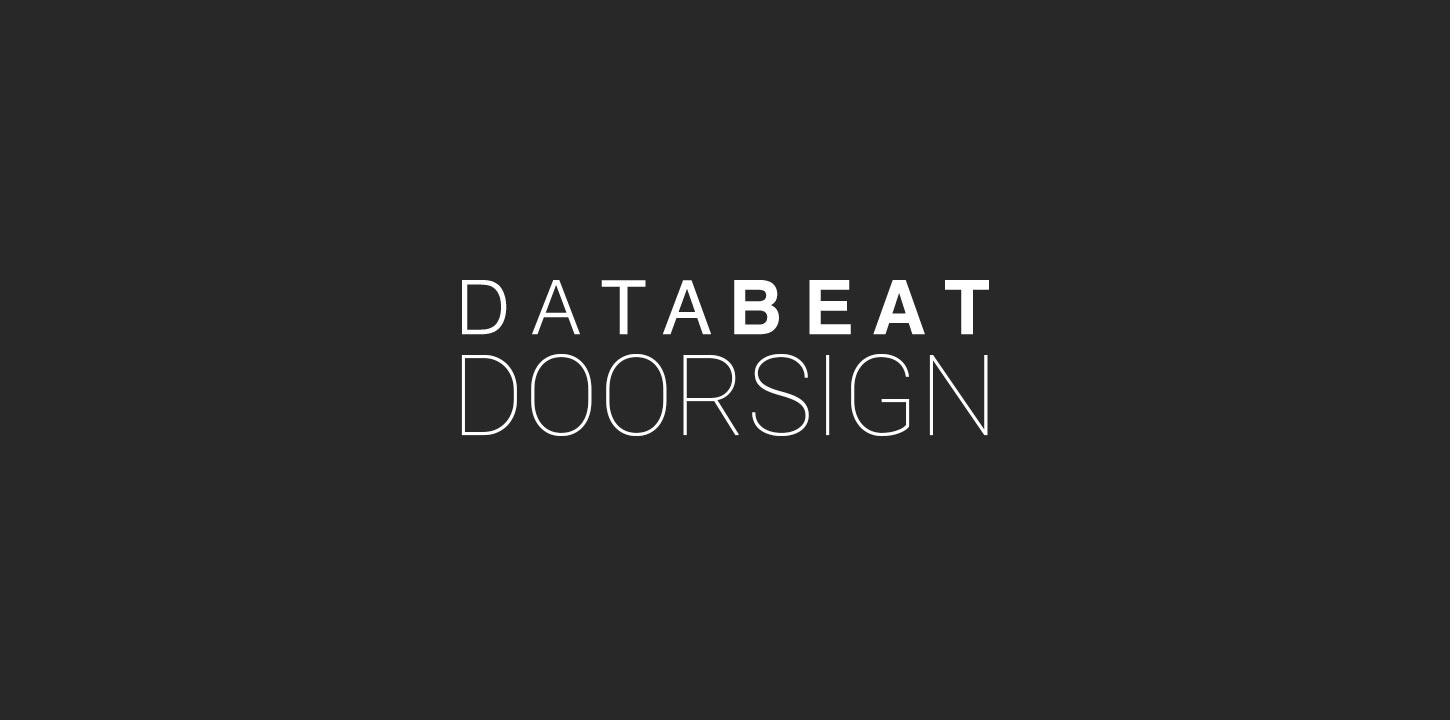 databeatdoorsign